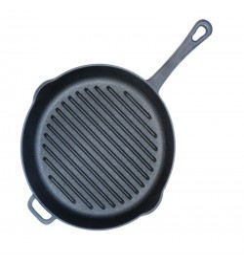 Ketaus grill keptuvė 260 mm., H 55 mm.