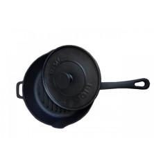 Grill keptuvė 240 mm., H 55 mm. su presu