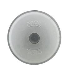 40 cm. aliuminio dangtis
