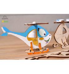 Malūnsparnio 3D modelis...