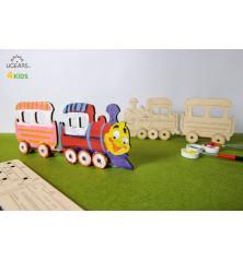 Traukinukas 3D modelis...