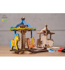 Karuselė 3D modelis...