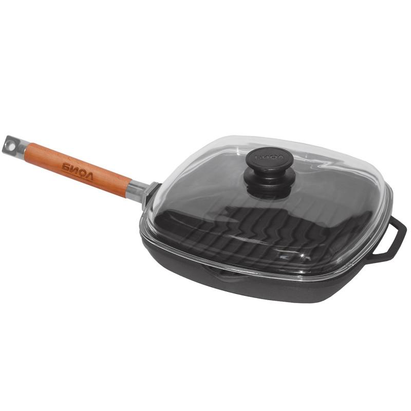 Grill keptuvė 280x280 mm., H 40 mm.