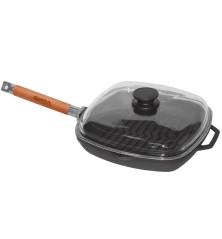 Grill keptuvė 260x260 mm., H 40 mm.